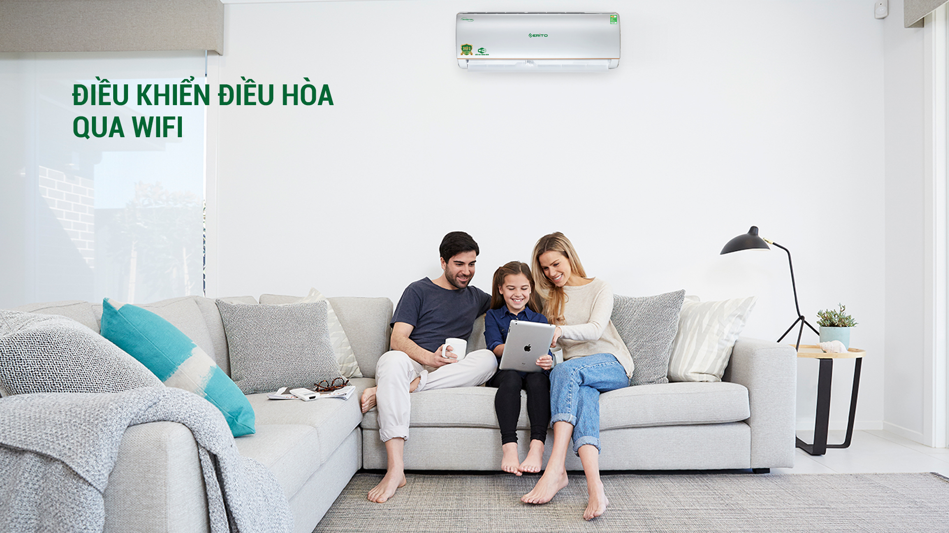 LỢI ÍCH CỦA VIỆC ĐIỀU KHIỂN ĐIỀU HÒA QUA WIFI